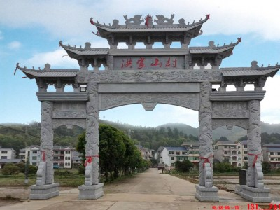 黑龙江省抚远县新农村石门楼图片大全